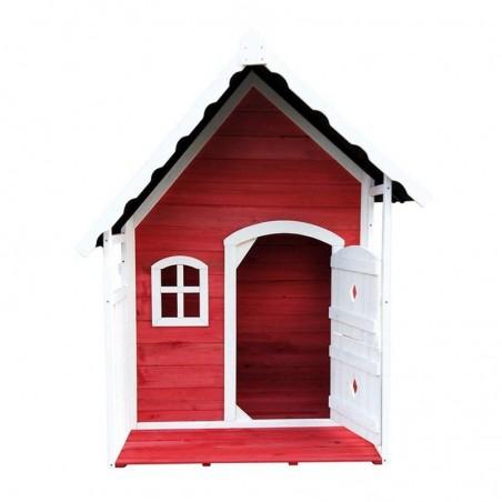 Casetta infantile in color rosso
