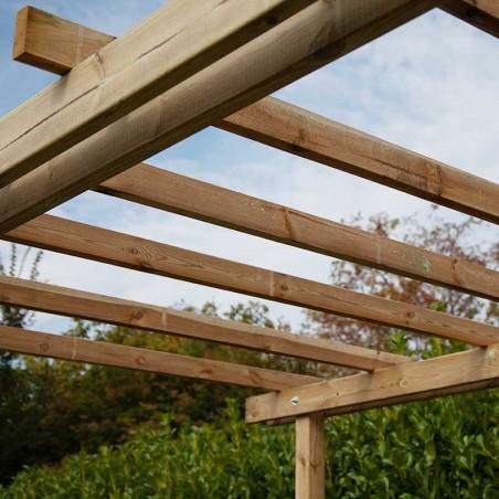 Pergola di legno Como, 2,4 x 2,4 m