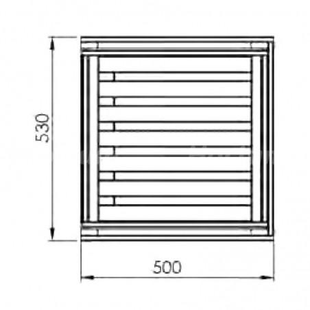 Cassettiera ORTO misure 50x54x60 cm