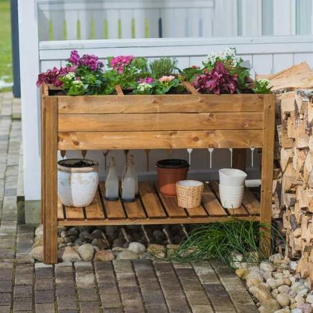 Orto di legno 120 x 80 cm