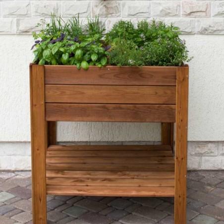 Orto di legno Apple Small 80 x 80 cm