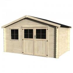 Casetta di legno Flodeal 4x3m