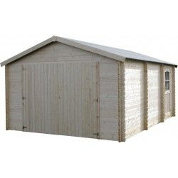 Garage in legno Garodeal 34mm, 386 x 518 cm, 19.99m²