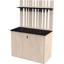 Box legno alto 15mm, 120 x 57 cm, 0.68m²