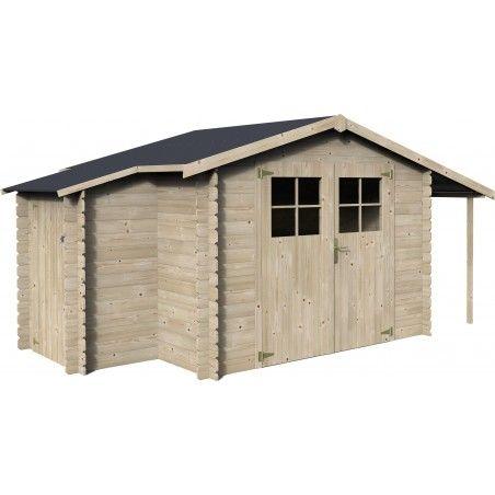 Casetta in legno Talcy 19mm, 270 x 230 cm, 10.23m²