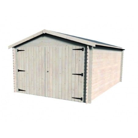 Garage in legno Gamache 28mm, 300 x 480 cm, 14.25m²