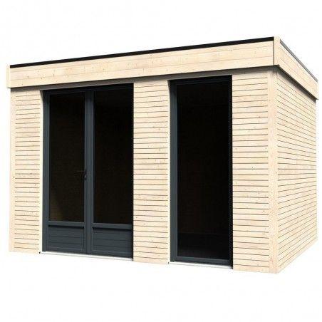 Casette habitat in legno Minicasa 9,81m² | 365 x 299 cm