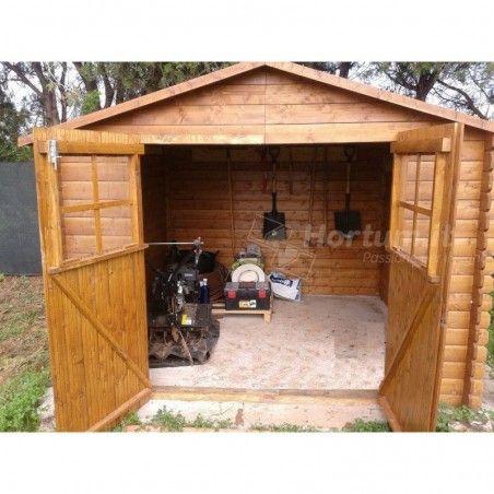 Cassetta giardino in legno Mirama 270x270cm