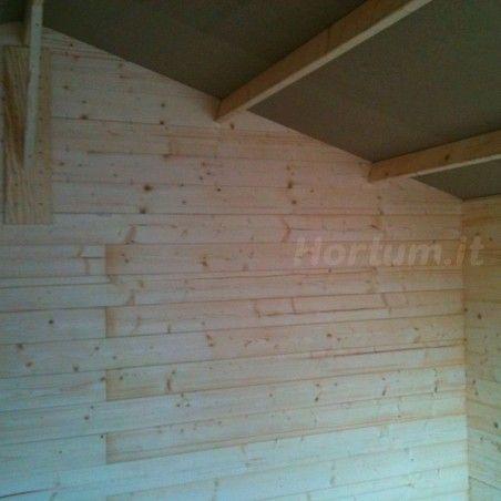 Interno della casetta in legno Flodange, 28 mm, 233 x 233 cm