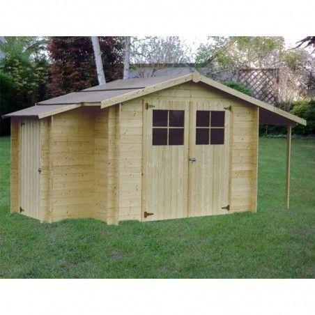 casette in legno Milogan 19 mm. 269 x 229 cm