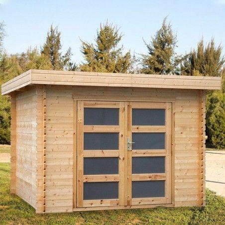 Casetta in legno Plodoreal 28mm, 300 x 300 cm, 8.88m²