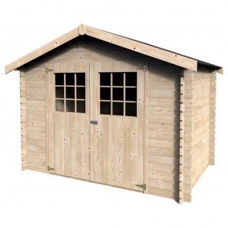 Casetta di legno Gran Flodova 28mm, 300 x 300 cm, 8.88m²