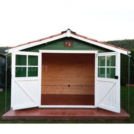 Casetta in legno da giardino Flodavil. 28 mm, 324 x 268 cm. 8.68 m²