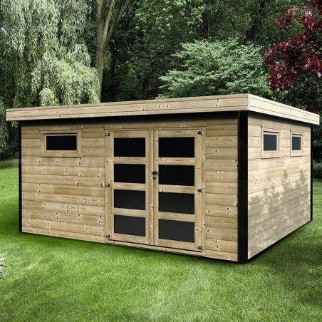Casetta di legno Evelin 28mm, 450 x 400 cm, 18m²
