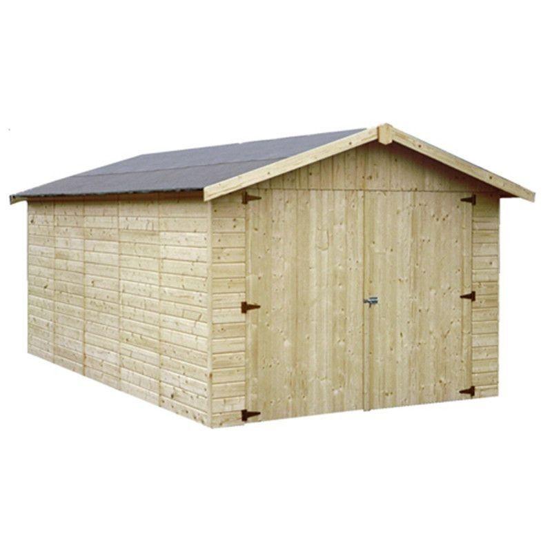 Garage in legno Garove 273 x 461 cm, 12.57 m²
