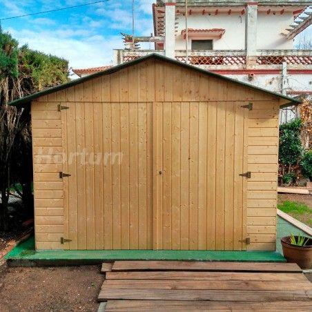 Garage in legno Gapadan 15mm, 303 x 512 cm, 18.84m²
