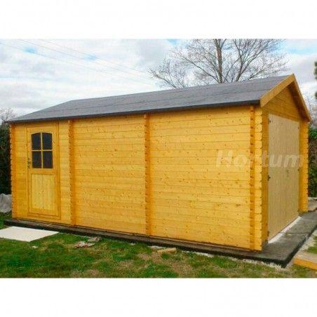 Garage in legno Garodeal, 386 x 518 cm, 19.99 m²
