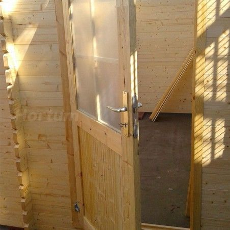 Serratura garage prefabbricaro di legno garodeal 34 mm, 386 x 518 cm