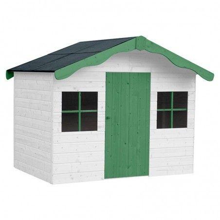 Casetta in legno per bambini Aurelie 12mm, 182 x 130 cm, 3.19m²