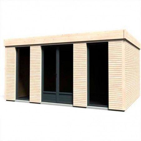 Casette habitat in legno Minicasa 16,70m² | 495 x 365 cm