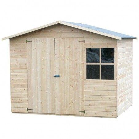 Casetta in legno Loguec 242 x 182 cm, 4.42m². 12 mm spessore.