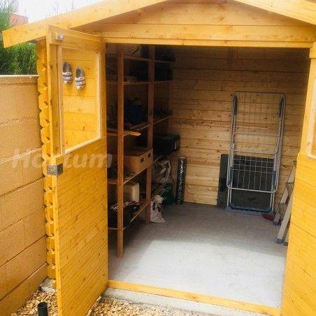 Casetta da giardino in legno Milovic. 19 mm, 209 x 209 cm, 4.37m²