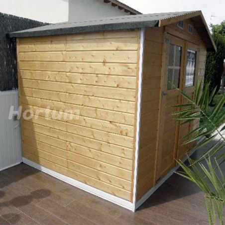Capannoni da giardino in legno Lode 212 x 182 cm