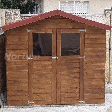 Casetta in legno Lode 212 x 182 cm
