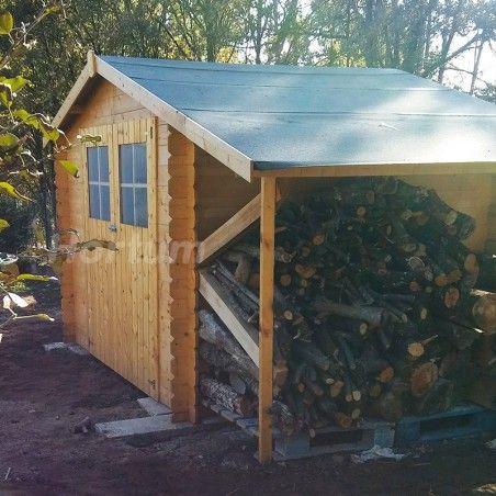 casette in legno Milogan 19 mm. 269 x 229 cm - Legnaia