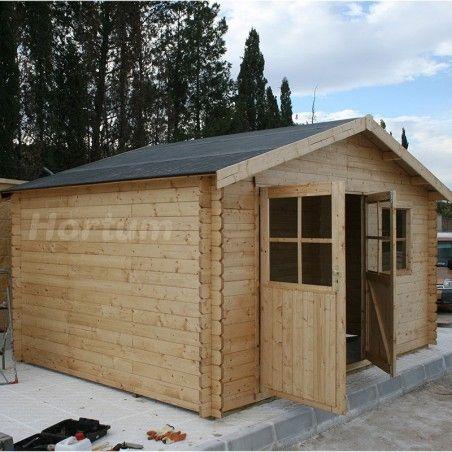 Casetta in legno Flodeal. 28 mm, 400 x 300 cm, 11,92 m²