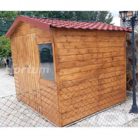 Casetta giardino in legno Loguec 12 mm,242x182 cm, 4.42m²