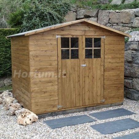 Casetta di legno Lodum 12mm, 240 x 180 cm