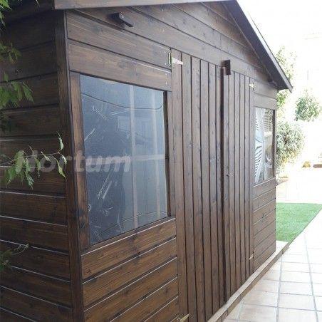 Casetta di legno Lopun 12mm, 272 x 182 cm, 4.96m²