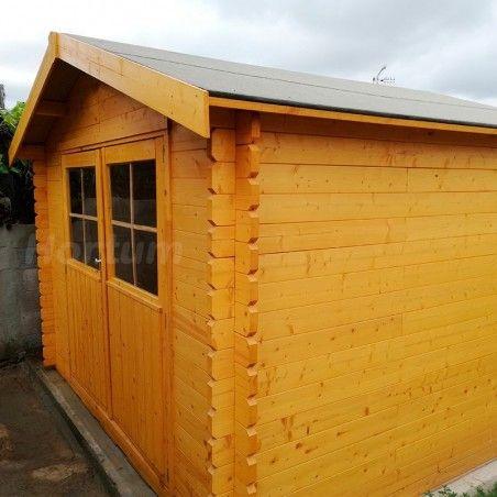 Casetta da giardino in legno Valodeal 298 x 298 cm, 8.88 m²