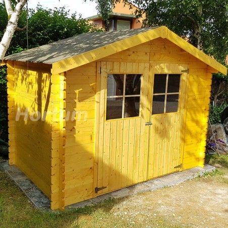 Casetta di legno Flodova. 28 mm, 300 x 200 cm, 5.9 m²