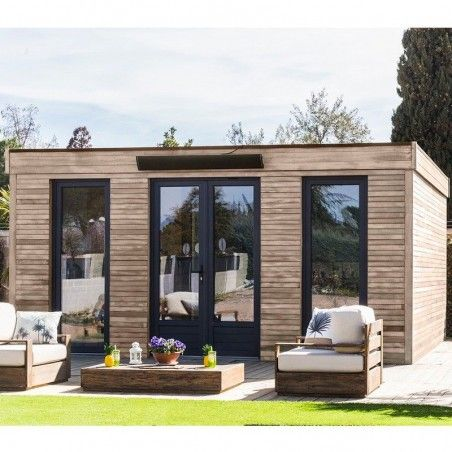 Casette habitat in legno Minicase 23m² | 497x497cm