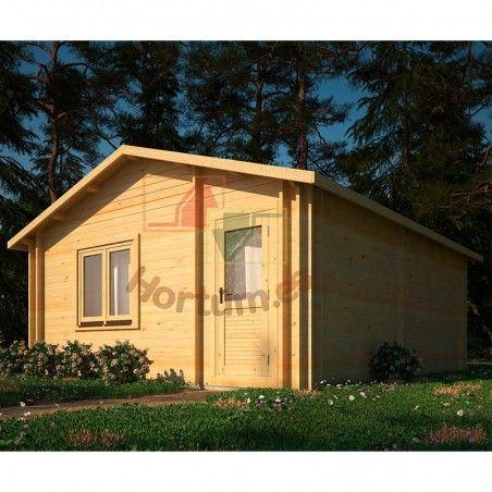 Case in legno Onega 34+34mm, 500x578 cm, 28m²