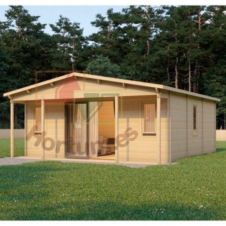 Case prefabbricata in legno Gila, 68 mm, 700x800cm, 55 m²