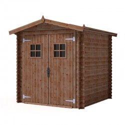 Casetta in legno impregnato in autoclave Perla. 200 x 200 cm, 4m²
