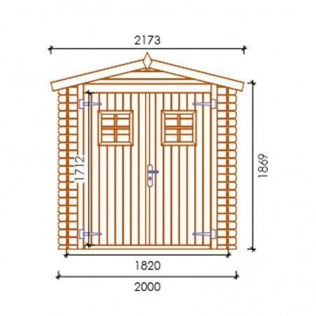 Misure Perla impregnata, 19mm, 200 x 200 cm, 4m²