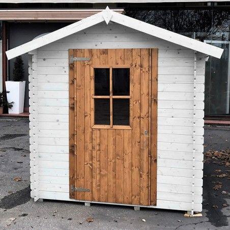 Casetta di legno grezzo 2x2 modello Londra personalizzata