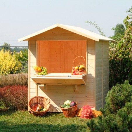 Chiosco in legno Mojito 5 m²