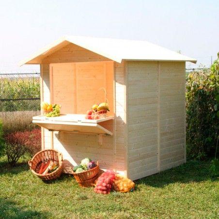 Chiosco in legno modello Mojito 5 m²