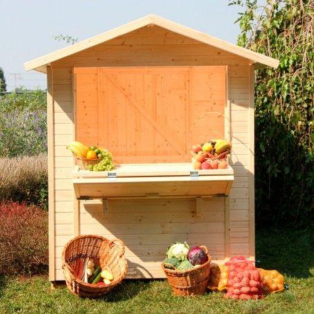 Chiosco in legno Mojito 14mm, 170 x 175 cm, 5m²