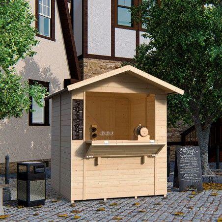 Chiosco in legno Mojito modello 5 m²