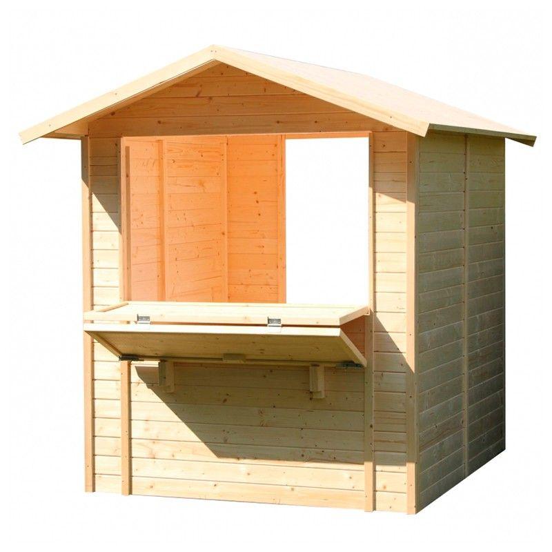 Chiosco in legno Mojito
