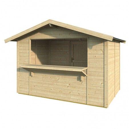 Chiosco in legno Spritz 19mm, 300 x 200 cm, 6m²