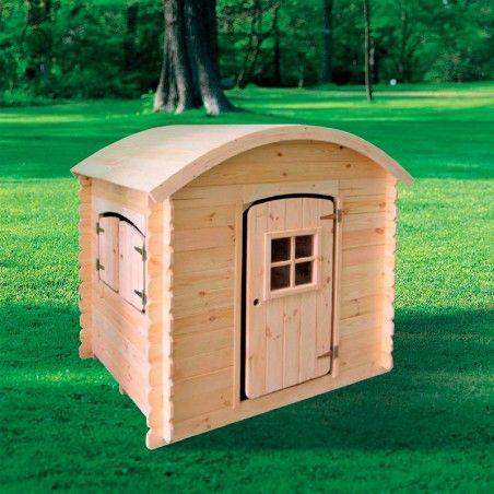 Casetta per bambini in legno Luna 20mm, 130 x 105 cm, 1.63m²