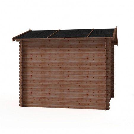Casetta in legno Marina impregnata 19mm, 246 x 246, 5m²