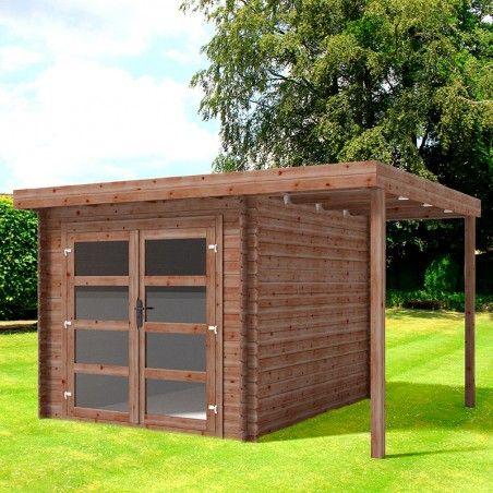 Casetta legno impregnato Lidia 28mm, 360 x 300 cm, 10.8m²